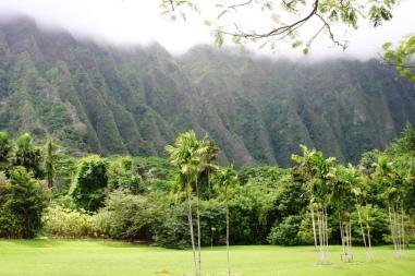 Ho'omaluhia Gardens, O'ahu, Hawaii